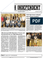 Faith Independent, January 23, 2013