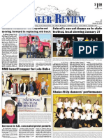 Pioneer Review, January 24, 2013