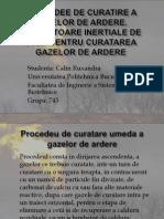 Procedee de curatire a gazelor de ardere. Separatoare inertiale de praf pentru curatarea gazelor de ardere