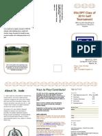 Golfer Brochure