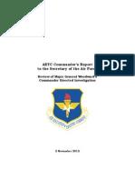 AETC Report to SecAF 2 Nov 2012