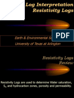resitivity log