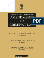 Justice Varama Report