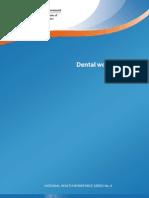 Dental workforce in 2011