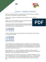Mathe (Grundrechnen Subtrahieren)