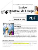 Subsidio litúrgico Bautismo del Señor ciclo C