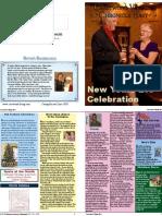 Past Newsletter Sample