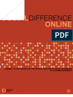 Social Difference Online Vol.1 2011