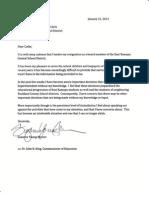 East Ramapo School Board resignation letters