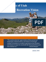 State of Utah Outdoor Recreation Vision