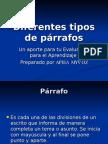 Tipos Parrafos