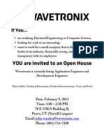 Wavetronix Open House