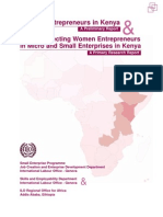 Women Entrepreneurs in Kenya &
