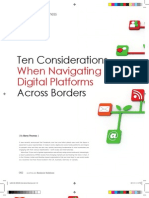 Ten Considerations When Navigating Digital Platforms Across Borders