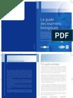 Le Guide Des Examens Biologiques