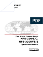Notifier 320 Operations Manual