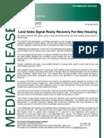 HIA Land Sales Report (Sept Qtr 2012)