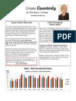 Central Louisiana Market Update January 2013