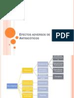 Efectos adversos de Antisicóticos