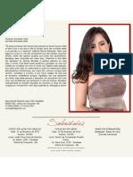 Convite de Formatura de Mônada Fernandes Costa - Direito FAINOR 2012-2