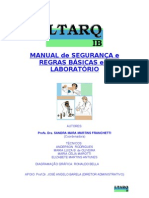 manual de segurança básica no laboratório