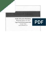 Intervenor Funding Document
