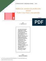 Análissi de sistemas de producción animal. Tomo I. Las bases conceptuales.