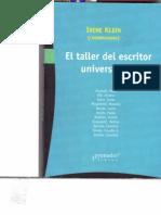 KLEIN IRENE El Taller Escritor Universitario
