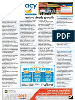 Pharmacy Daily for Thu 24 Jan 2013 - API growth, Diabetes review, TGA orphans, Medical workforce and much more...