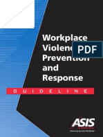 asis workplace violence guidelines book