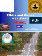 2013Jan09 - Ethics and Values - Part 2 - APCPDCL - [ Please download and view to appreciate better the animation aspects ]