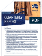 Fortescue Metals Group Quarterly Report