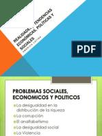 Realidades y Tendencias Economicas, Politicas y Sociales