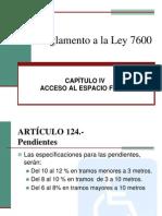 Reglamento a La Ley 7600 Mural