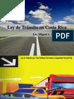 3. Ley de Tránsito en Costa Rica