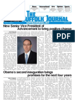 The Suffolk Journal 1/23/2013