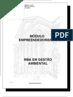 Apostila Empreendedorismo Gesão Ambiental - Ecologia e Construcao Alternativa