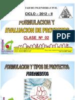 Clase 2 Tipos de Proyectos 2012 II Final