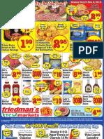 Friedman's Freshmarkets - Weekly Specials - January 31 - February 6, 2013