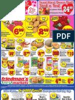 Friedman's Freshmarkets - Weekly Specials - February 7 - 13, 2013