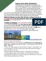 bb clinic motel information 2013