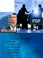 How Unethical Practices Almost Destroyed World Com