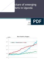 The structure of emerging rice markets in Uganda
