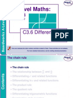 c3.6 Differentiation