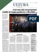 """""""Zaragoza estrena una sala con programa estable de magia gamberra y divertida"""""""