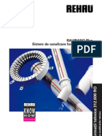 Sistem de Canalizare Fonoabsorbanta