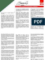 Prise de Parole Du 15-01-2013