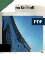 Hans Kollhoff (Current Architecture Catalogues)