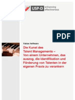 USP-D Von der Kunst des Talent Managements