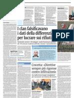 Mafia e Rifiuti 27 Arresti e 16 Indagati Crocetta e Il Blitz Rifiuti